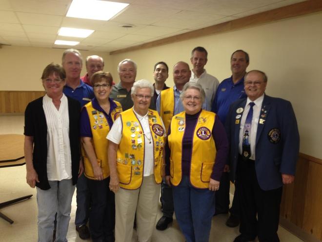 Carver Lions 2013/2014 Officers
